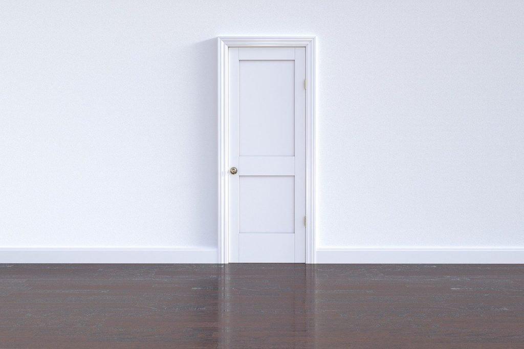 door, doorway, wall