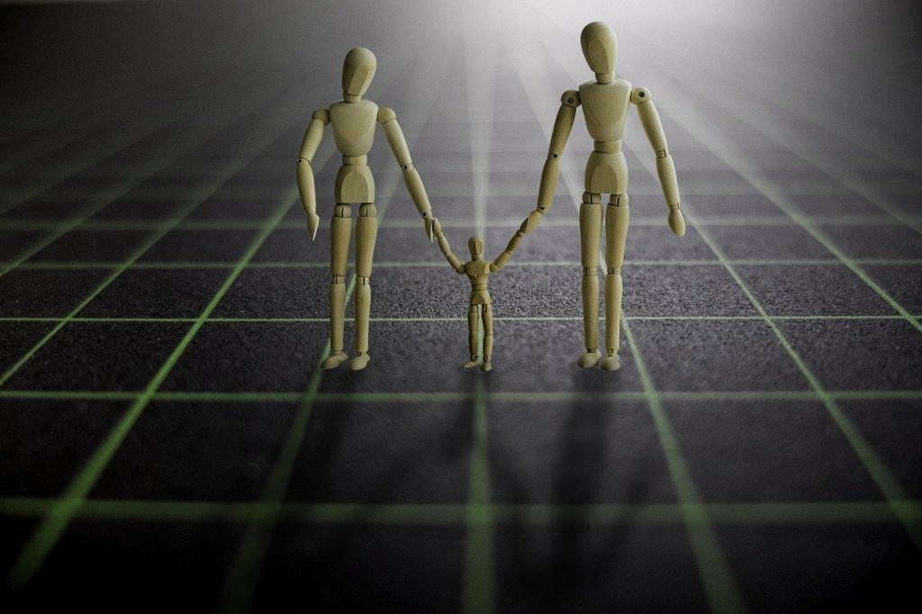 partner, hand in hand, family